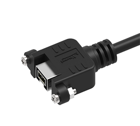 firewire Panel Mount cables
